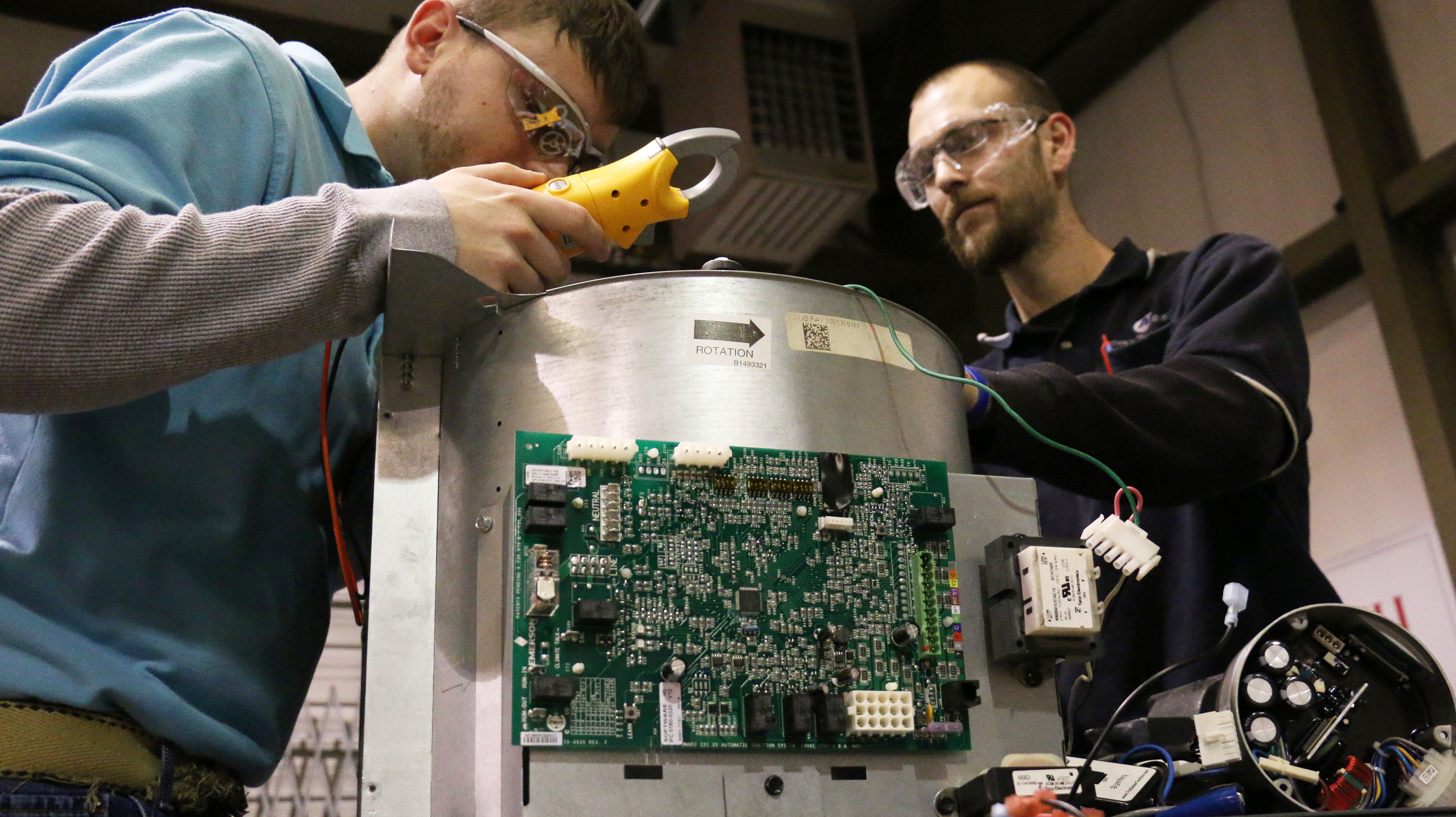 Technology Management Image: Associate In Occupational Science HVAC Technology With