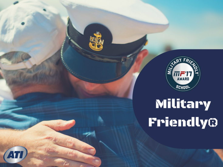 ATI Designated 2017 Military Friendly® School