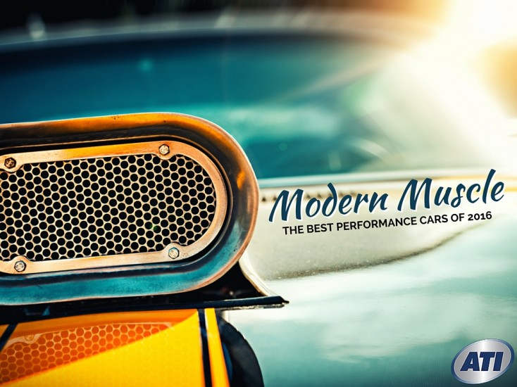 Modern Muscle Cars: What are the Best Performance Cars of 2016?