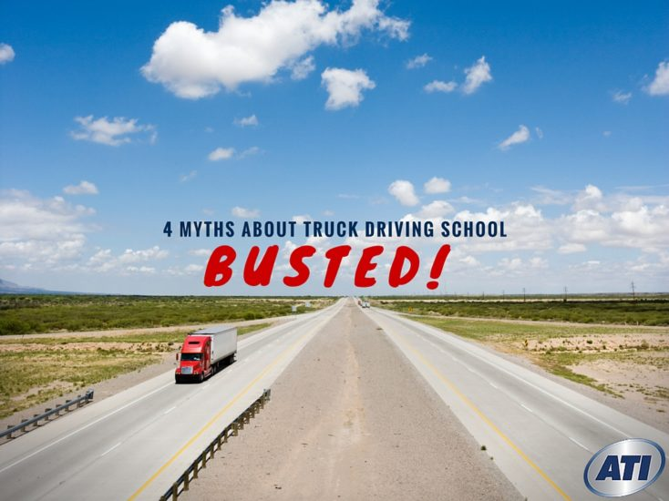 4 Myths About Trucking Schools: Busted!